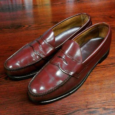 half-saddle-vintage-loafers