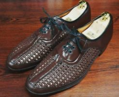 mesh-leathershoes