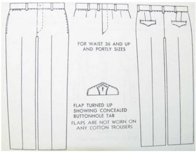 u.s.airforce-serge-pants