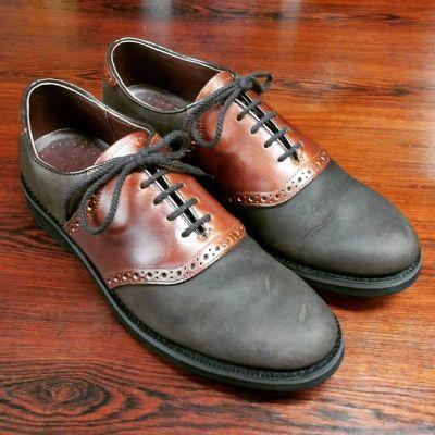 King-and-Clarke-saddleshoes-1