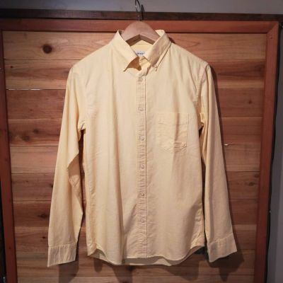 vintage-el-bottondown-shirt-yellow
