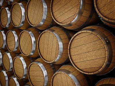 wooden-oak-barrels