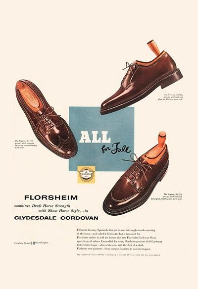 Florsheim-Clydesdale-Cordovan1956-ad