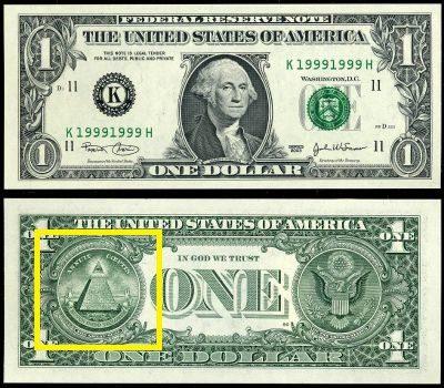 USA1ドル札